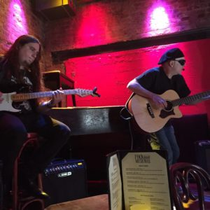 Adam Newell joined Steve at Rockwood Music Hall.